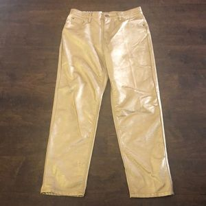 Women's Urban Outfitters faux leather pants